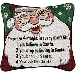 Santa-every-stage-Pillow