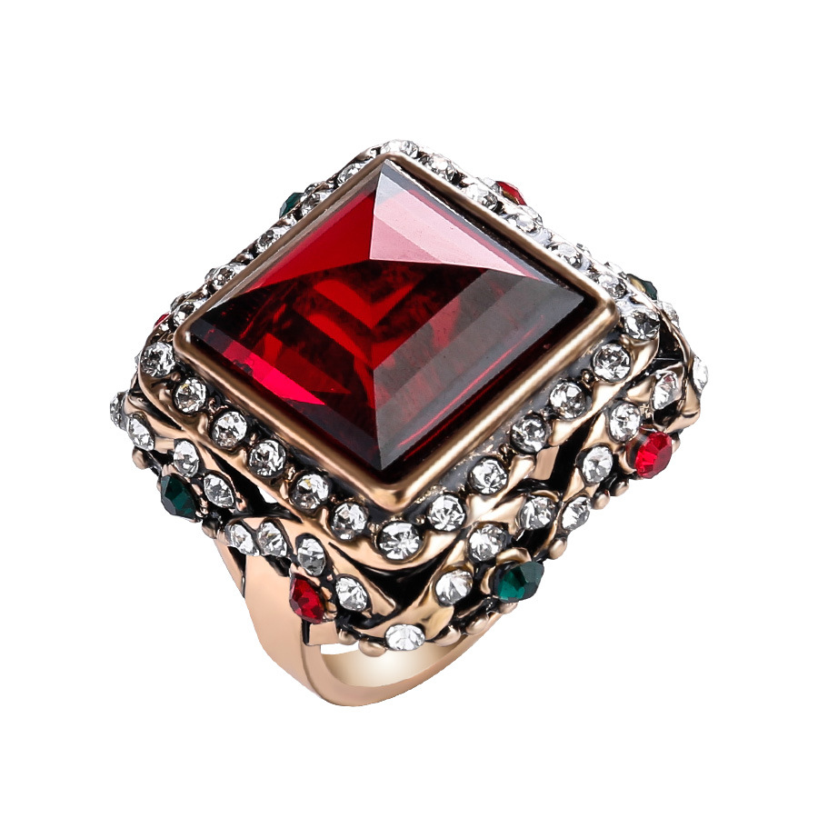a white engagement gold diamond fancy ring red once stone cut princess rings upon products