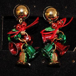 Clip-On-Bells-and-Bow-Earrings