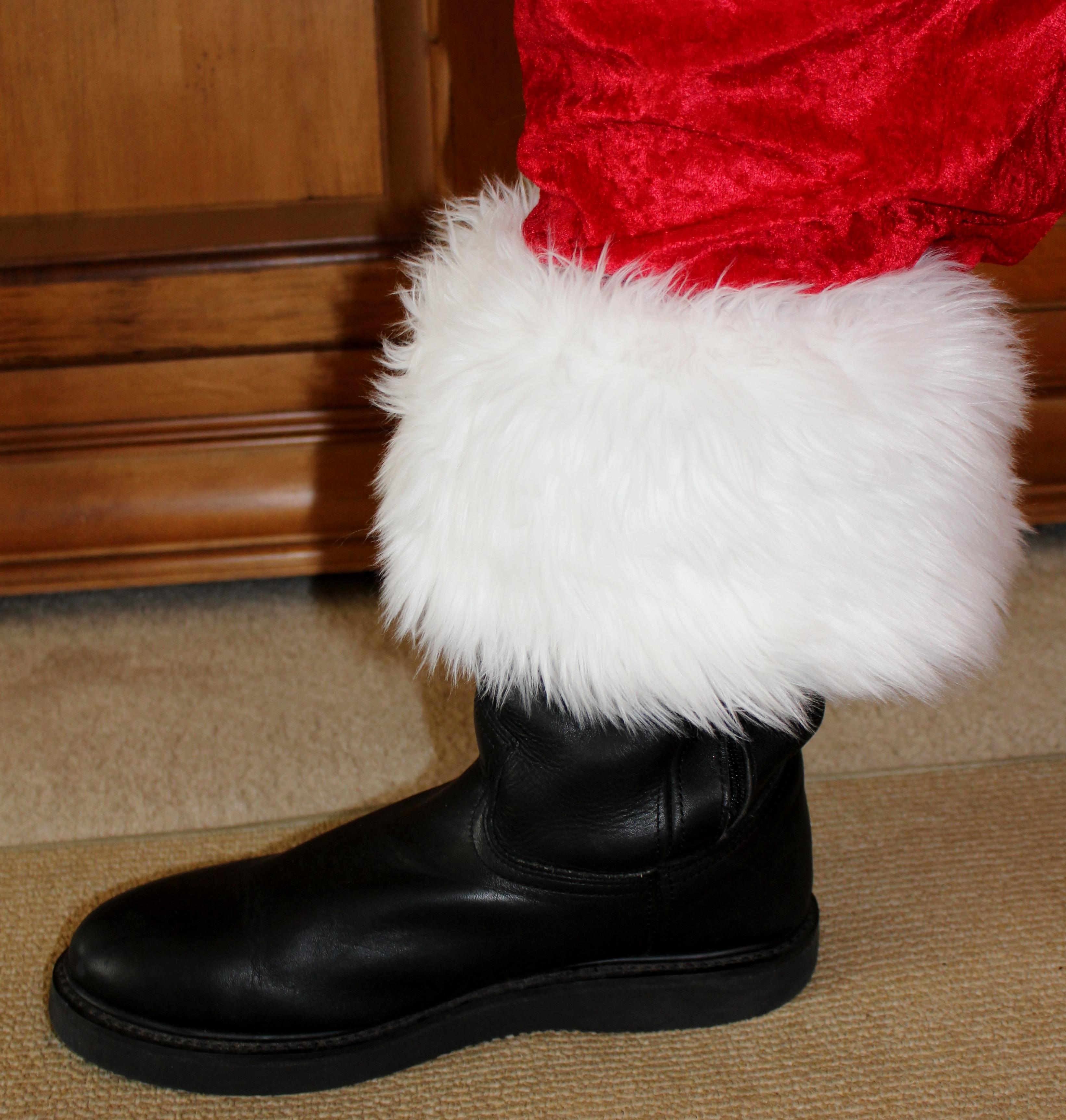 Faux Fur Cuffs: Long Hair Faux Fur 6″ High Boot Toppers